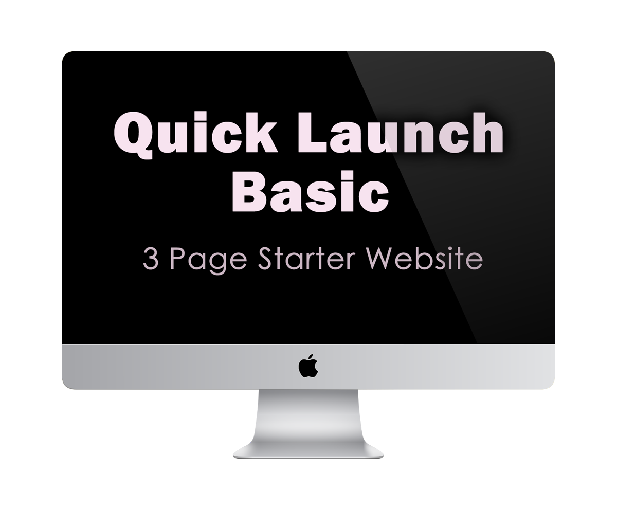 Quick Launch Basic | 3 Page Starter Website | KESHANDE Technology