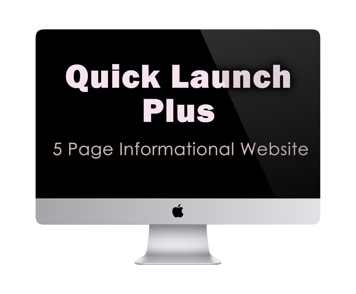 Quick Launch Plus | 5 Page Informational Website | KESHANDE Technology