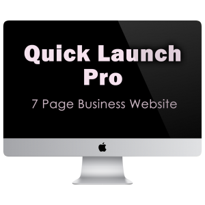 Quick Launch Pro   7 Page Business Website   KESHANDE Technology