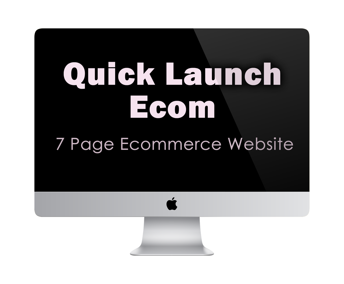 Quick Launch Ecom | 7 Page Ecommerce Website | KESHANDE Technology