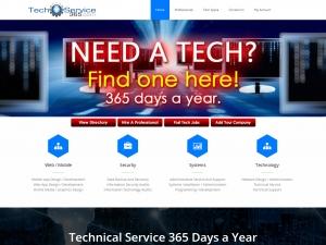 Website Visual - Tech Service 365