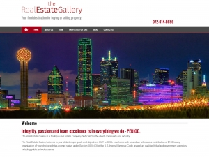 Website Visual - The Real Estate Gallery