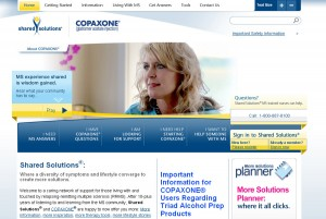 Shared Solutions - COPAXONE | KESHANDE Technology Website Design