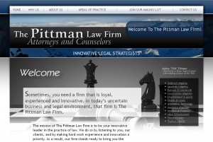 The Pittman Law Firm | KESHANDE Technology Website Design